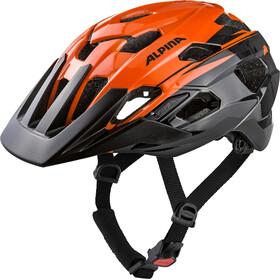 Alpina Anzana - Casco de bicicleta - naranja/negro